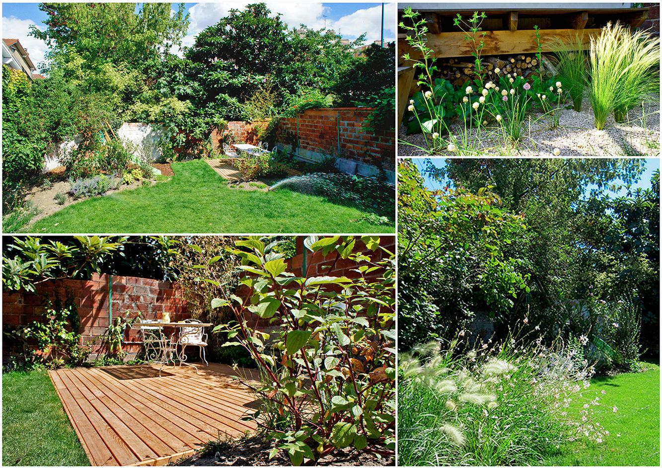 Colombes il tait une feuille paysagiste paris - Jardin fleuri lyon colombes ...